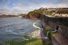 Hope Cove, Devon Stock Image