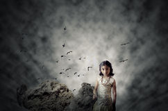 Hope in the Darkness Royalty Free Stock Photo