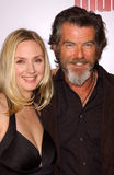 Hope Davis,Pierce Brosnan Royalty Free Stock Photos