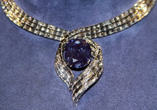 The Hope Diamond Royalty Free Stock Photo