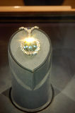 Hope Diamond, Smithsonian Museum Stock Image