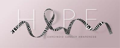 hope E r November ?r cancermedvetenhetm?naden stock illustrationer