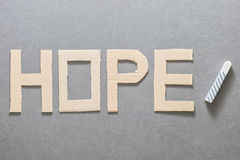 Hope education Royalty Free Stock Image