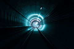 Hope at the end of tunnel Stock Photos