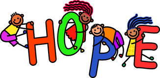 Hope Kids Stock Images