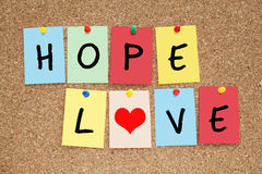 Hope Love Stock Photo