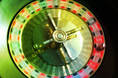 Hope of a prize. For the present the roulette at us turns there is a hope Royalty Free Stock Photography