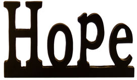Hope sign Royalty Free Stock Photography