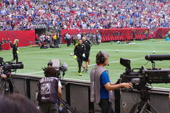 Hope Solo warm up, FIFA Women's World Cup Stock Photo