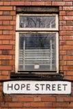 Hope Street Stock Photos
