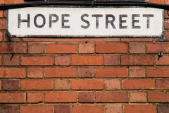Hope Street Stock Photography