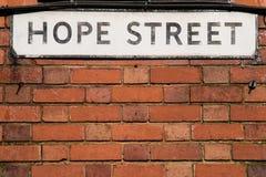 Hope Street Stock Photography