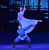 """Hope their loved ones back-Dance drama """"The Dream of Maritime Silk Road"""". Dance drama """"The Dream of Maritime Silk Road"""" centers on the plot of two Stock Images"""