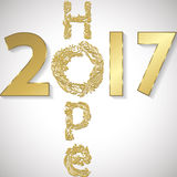 Hope for 2017 Stock Image