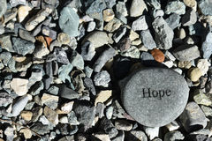 Hope. There is always a way, keep the faith, never give up hope Royalty Free Stock Image