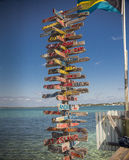 Hope Town, Abaco, Bahamas Royalty Free Stock Photo