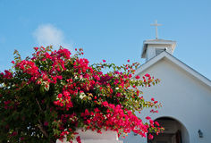 Hope Town Church royalty free stock image