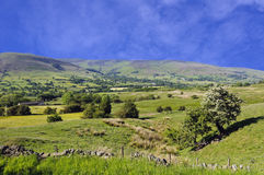 Hope Valley. In Peak District National Park Derbyshire England Royalty Free Stock Image
