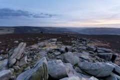 Hope Valley. In Peak District Royalty Free Stock Images