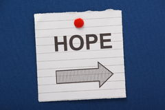 Hope This Way Stock Photo