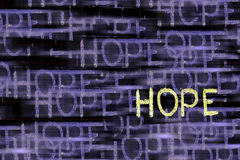 Hope Word Stock Photos