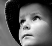 Hopeful Child Royalty Free Stock Photo