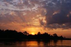 Hopeful morning. Hopeful sunrise in the morning Stock Photography