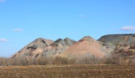 Hopen van kolenmijnen Royalty-vrije Stock Fotografie