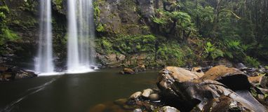 Hopetoun Falls Panorama Stock Photo