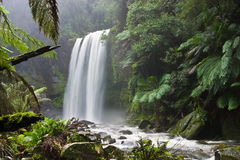 Hopetoun Falls in Victoria, Australia Stock Photos