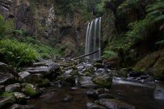 Hopetoun siklawa w lesie Fotografia Royalty Free