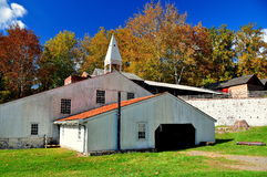 Hopewell Furnace, PA: Cast House Royalty Free Stock Photo