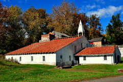 Hopewell Furnace, PA: Cast House Royalty Free Stock Image