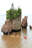 Hopewell Rocks, New Brunswick Stock Photo