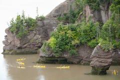 Hopewell Rocks - New Brunswick - Canada Royalty Free Stock Photos