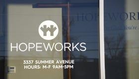 Hopeworks-Organisation Memphis, Tennessee stockfotografie