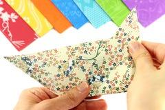 Hopfällbar origami Royaltyfri Bild