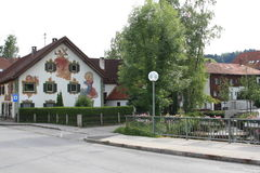 Hopfen上午看见,德国, ywar 2009年 库存照片
