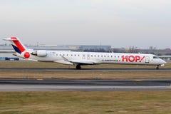 Hopfen! (Air France) Lizenzfreies Stockbild