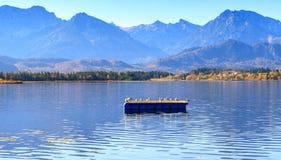 Hopfensee lake.Bavaria, Germany Stock Photography