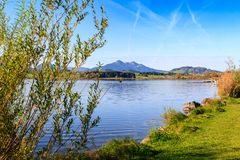 Hopfensee lake.Bavaria, Germany Royalty Free Stock Image