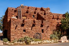 Hopi House. At the grand canyon Stock Photos