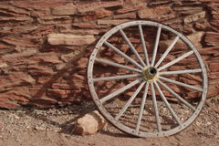 Hopi House Wagon Wheel Royalty Free Stock Photography