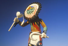 Hopi Kachina-Puppe lizenzfreie stockfotografie
