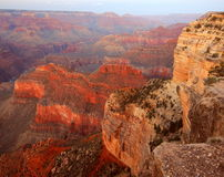Hopi Point Dusk, Grand Canyon Royalty Free Stock Image