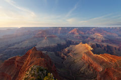 Hopi Point, Grand Canyon National Park. Hopi point at sunset, Grand canyon national park, AZ Royalty Free Stock Images