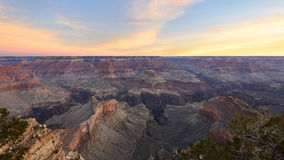Hopi Point, Grand Canyon National Park. Hopi Point at Dawn, Grand Canyon National Park Stock Image