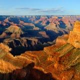 Hopi Point, parque nacional del Gran Cañón Fotos de archivo libres de regalías