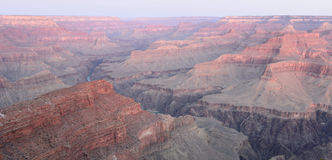 Hopi punkt, Uroczystego jaru park narodowy Fotografia Stock