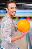 Hoping for a strike. Stock Photo
